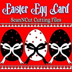 scanncut, easter egg card, craft, scrapbooking,