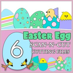 ScanNCut Easter Egg Pack - FCM Cutting Files